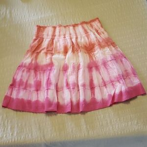 Maurice's cute tie dyed skirt.  Fun for summertime